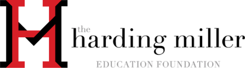 Harding Miller Education Foundation banner