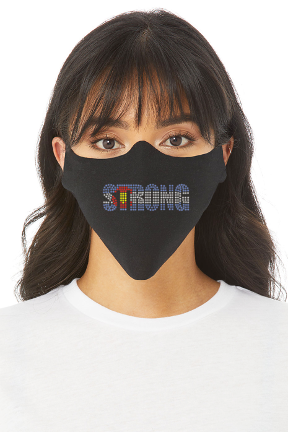 COLORADO STRONG BLING LOGO FACE MASK