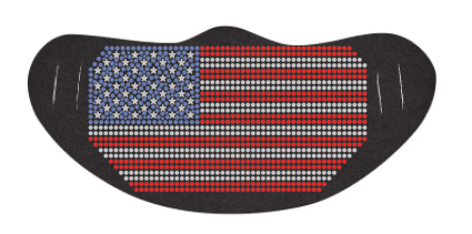 USA FLAG RHINESTONE BLING