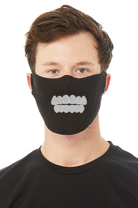 BLING GRILL FACE MASK